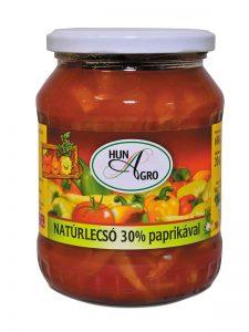Natúrlecsó 30% paprikával